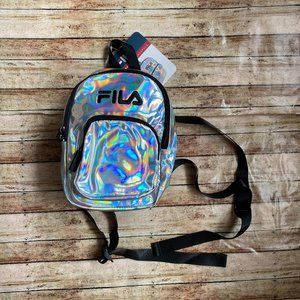 NEW Fila Y2K Marceline Holographic Mini Backpack